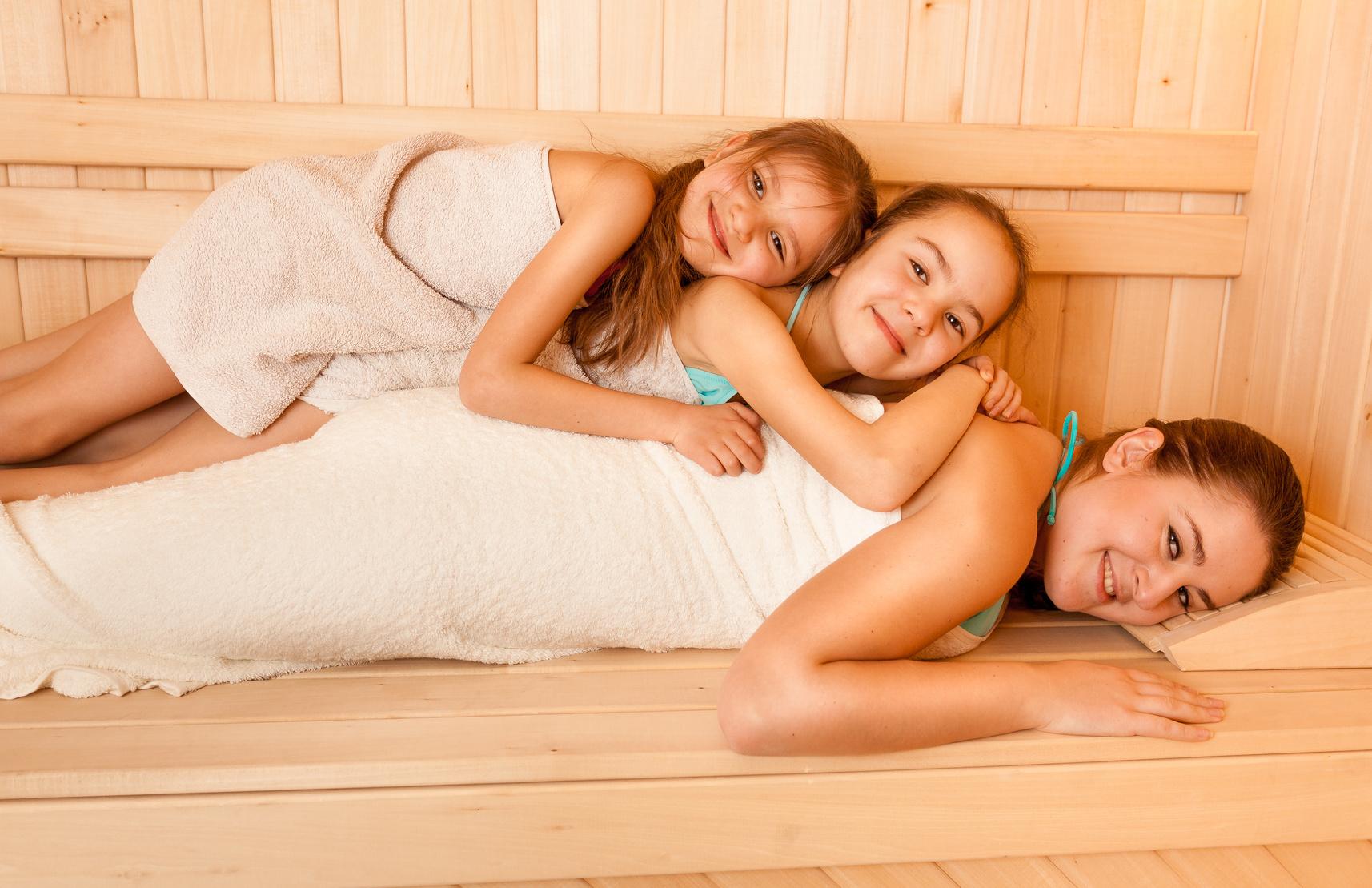 Deichwelle Neuwied Kinder Sauna Tag