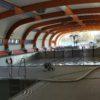 Schwimmerbecken Halle leer